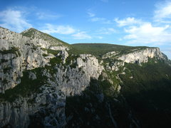 Rock Climbing Photo: View from the first or second Belvedere