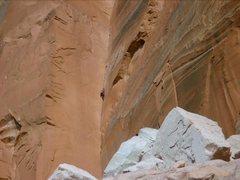 Rock Climbing Photo: Dihedral, Lake Powell