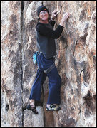 Rock Climbing Photo: Dick Cilley playing at Pixie Rock. Photo by Blitzo...