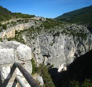 Rock Climbing Photo: Overlooking Falaise de l'Imbut