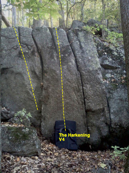 Rock Climbing Photo: the harkening