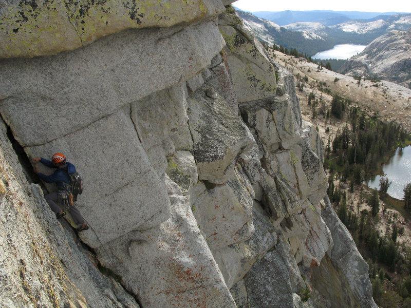 Rock Climbing Photo: Josh Byford on P4