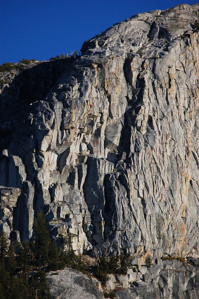 Rock Climbing Photo: Slightly closer view