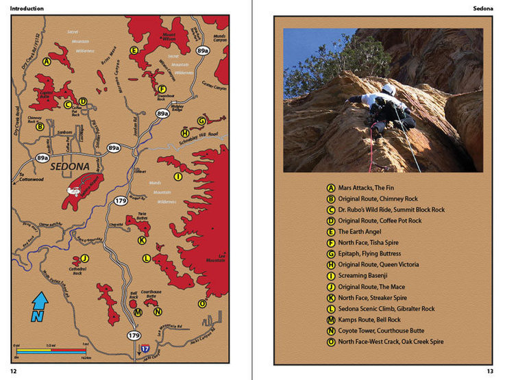 Table of Contents of the Sedona book