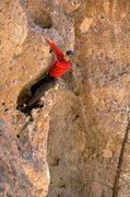 Rock Climbing Photo: Ooey Gooey action. April 2011.