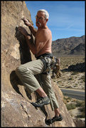 """Rock Climbing Photo: Marty Lewis on """"Silent Scream"""". Photo by..."""