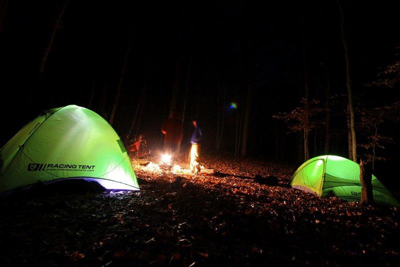 Camping at Jackson Falls SoIll