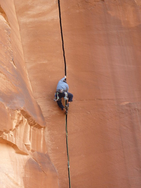 Rock Climbing Photo: willys hand jive