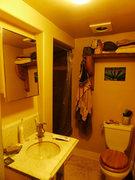 Rock Climbing Photo: bathroom (shower has stone tiles)