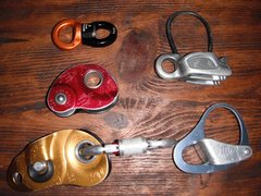 Rock Climbing Photo: Hauling and Belay Devices: BD Haulbag Rotor Swivel...