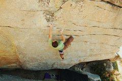 Rock Climbing Photo: bouldering near Buck Rock