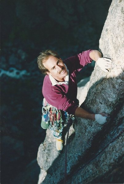Rock Climbing Photo: A great day on Scenic Cruise, somewhere way up the...