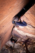 Rock Climbing Photo: Jason Molina on Chrysler Crack 5.9 Jan 2012  mattk...