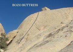 Rock Climbing Photo: BOZO BUTTRESS