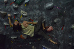 Rock Climbing Photo: Travis Horne on the 45 Wall.     photo by Jack Lee