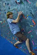 Rock Climbing Photo: Colin Flaherty on the Warm-up Wall.      photo by ...