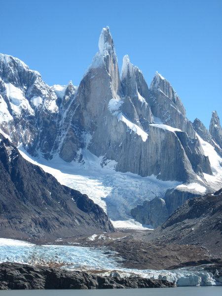 Rock Climbing Photo: Cerro Torre from the Lagoon.