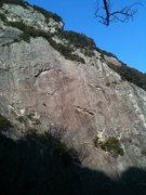 Rock Climbing Photo: South Face of Joyama