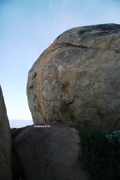 Rock Climbing Photo: Turtle Dome West Face Topo