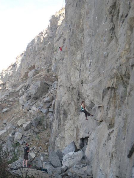 Rock Climbing Photo: Riverside Quarry