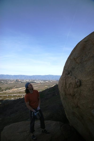 "Rock Climbing Photo: ""The rail looks good""!!"
