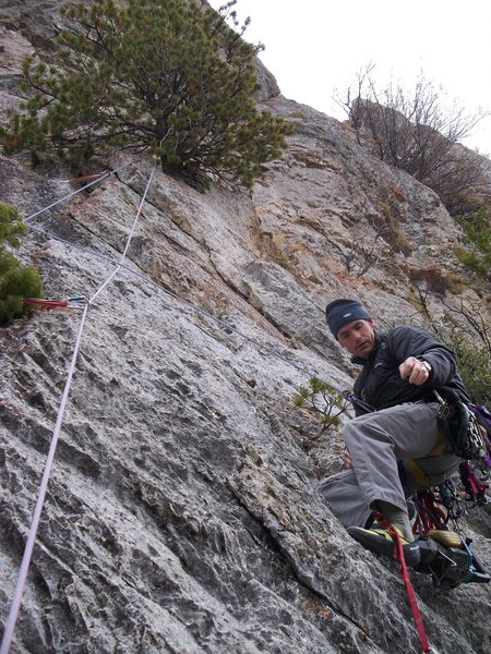 Rock Climbing Photo: This should help identify the start of the route. ...