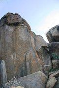 Rock Climbing Photo: Full Moon Topo