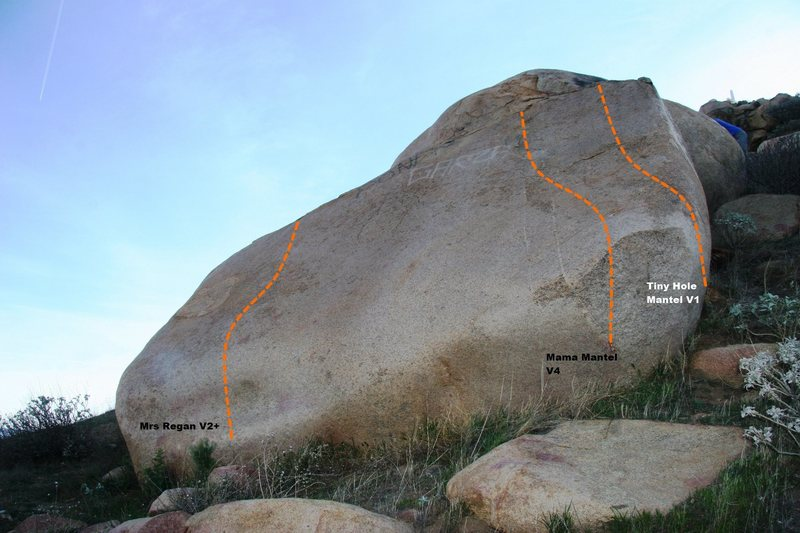 Rock Climbing Photo: Turtle Dome Slab Topo