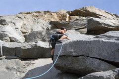 Rock Climbing Photo: Narinda being awesome!