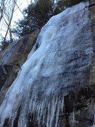 Rock Climbing Photo: Ice on 1/29/2012