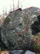 Rock Climbing Photo: Trigger Finger