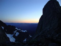 Rock Climbing Photo: Sunset on Mt. Shuksan.