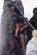 Rock Climbing Photo: Bear Hug.