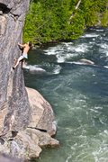 Rock Climbing Photo: DWS on Annie's Climax