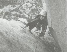 Rock Climbing Photo: whoIzit?