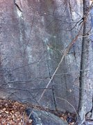 Rock Climbing Photo: Photo of Unknown Route 5 left of Strawberry Fields...