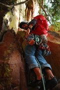 Rock Climbing Photo: Shirttail