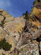 Rock Climbing Photo: Looking toward Lumpe Tower.
