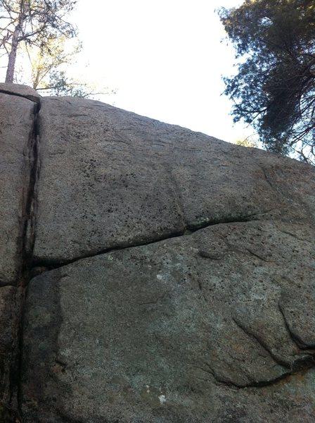 Rock Climbing Photo: Eric's Route.