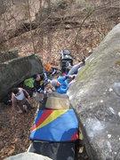 Rock Climbing Photo: Open Circuit. V7. Governor Stable