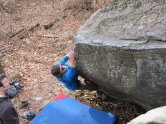 Rock Climbing Photo: Guy. Knead It. V3. Governor Stable