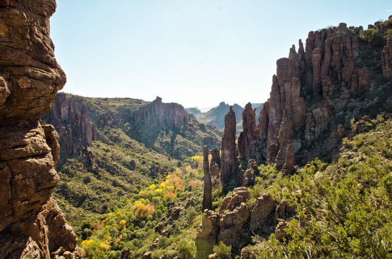 Rock Climbing Photo: view of the canyon