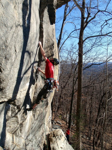Looking Glass Outfitters very own Phil Hoffmann sticking the deadpoint.