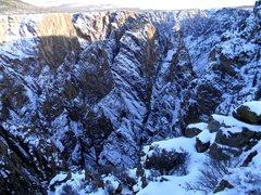 Rock Climbing Photo: Winter view.