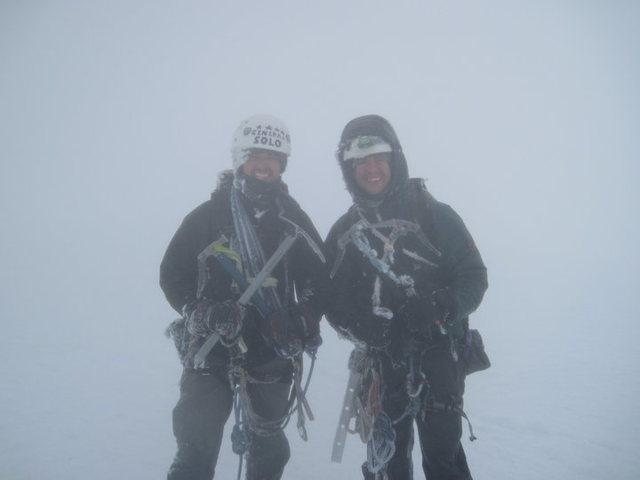 Rock Climbing Photo: North Ridge in P soup
