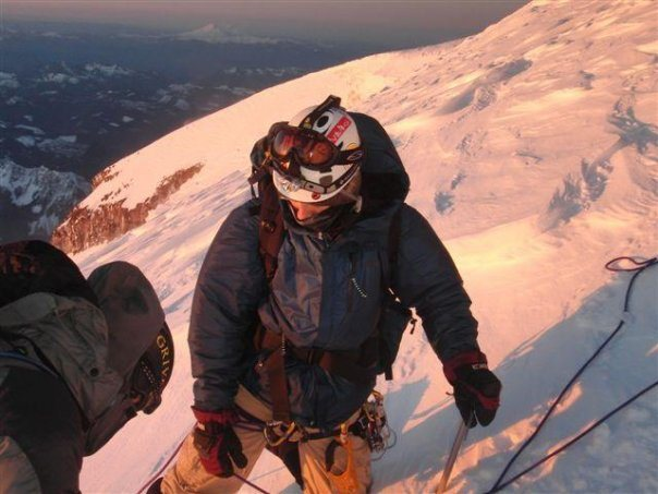 Rainier winter ascent