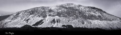 Rock Climbing Photo: Cannon Cliff from Boise Rock. Franconia, NH. Jan 3...