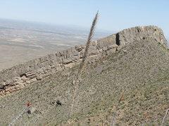 Rock Climbing Photo: Dihedral Ridge