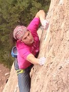 Rock Climbing Photo: Starting the upper face.