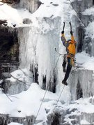 Rock Climbing Photo: PA Ice: Kintnersville: Main Gully, Left Corner